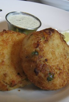 Crab cakes, Joe Fortes, 777 Thurlow Street, Vancouver, BC