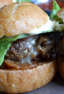 Classic sliders, Six Acres, 203 Carrall Street, Gastown, Vancouver