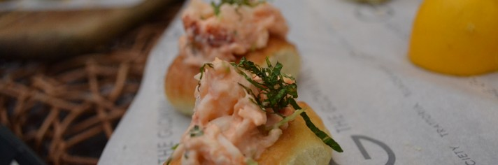 Spot prawn and lobster brioche, Coast, EAT Vancouver