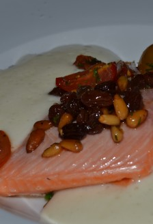 Vanilla sous-vide Troutm, Marben, 488 Wellington St West, Toronto, ON