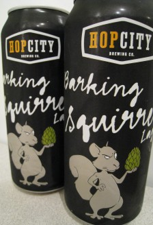 Barking Squirrel Lager, Hop City Brewing Company